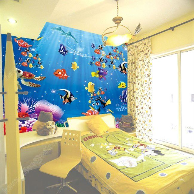 Finding Nemo Bedroom Childrens Room Murals