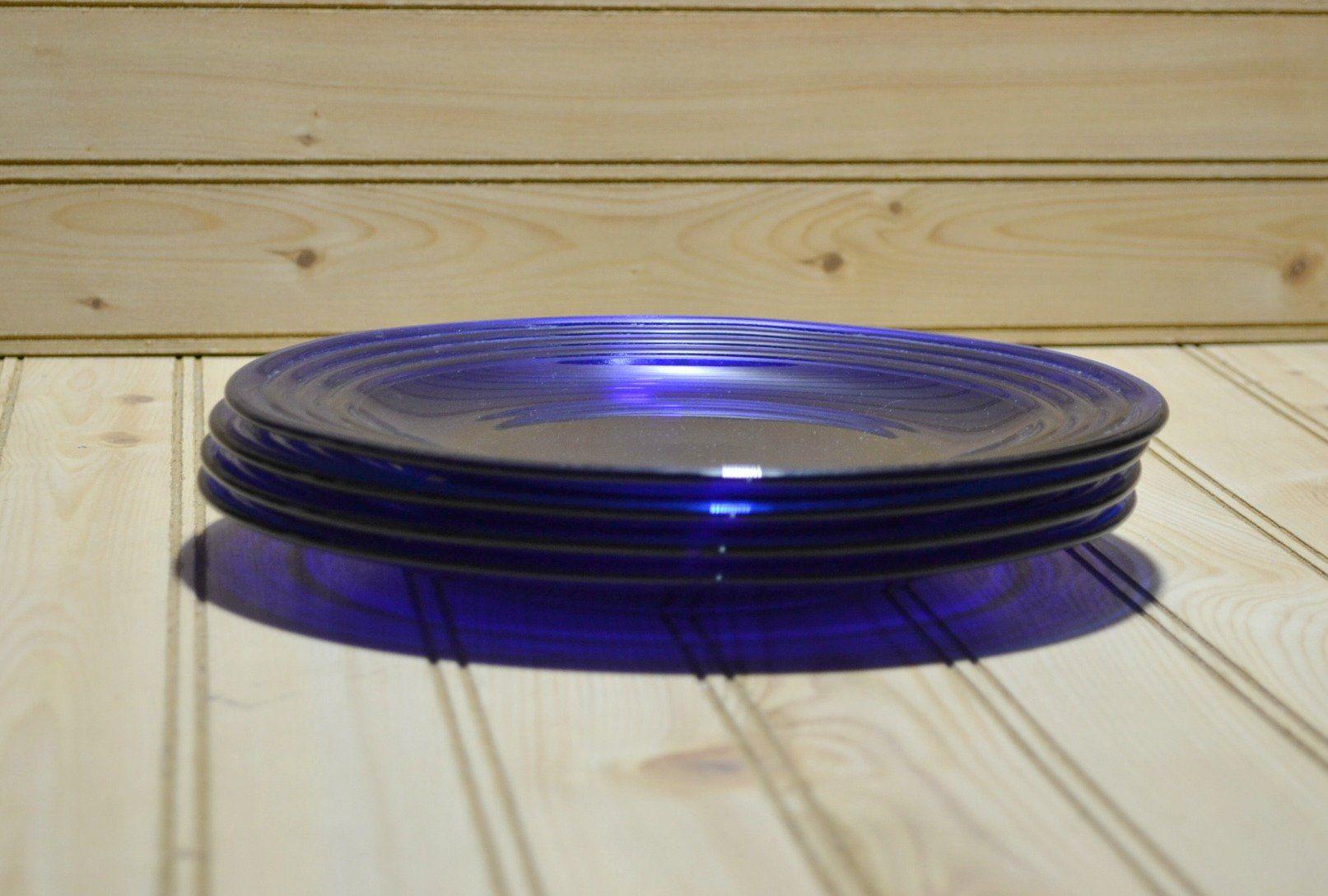 "Bormioli Rocco Forum Saphir Cobalt Serving Bowl 10 1//4/"""