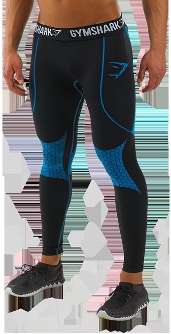 Men Compression Legging Running Gym Fitness Shorts Long Pants Base Layer Spandex