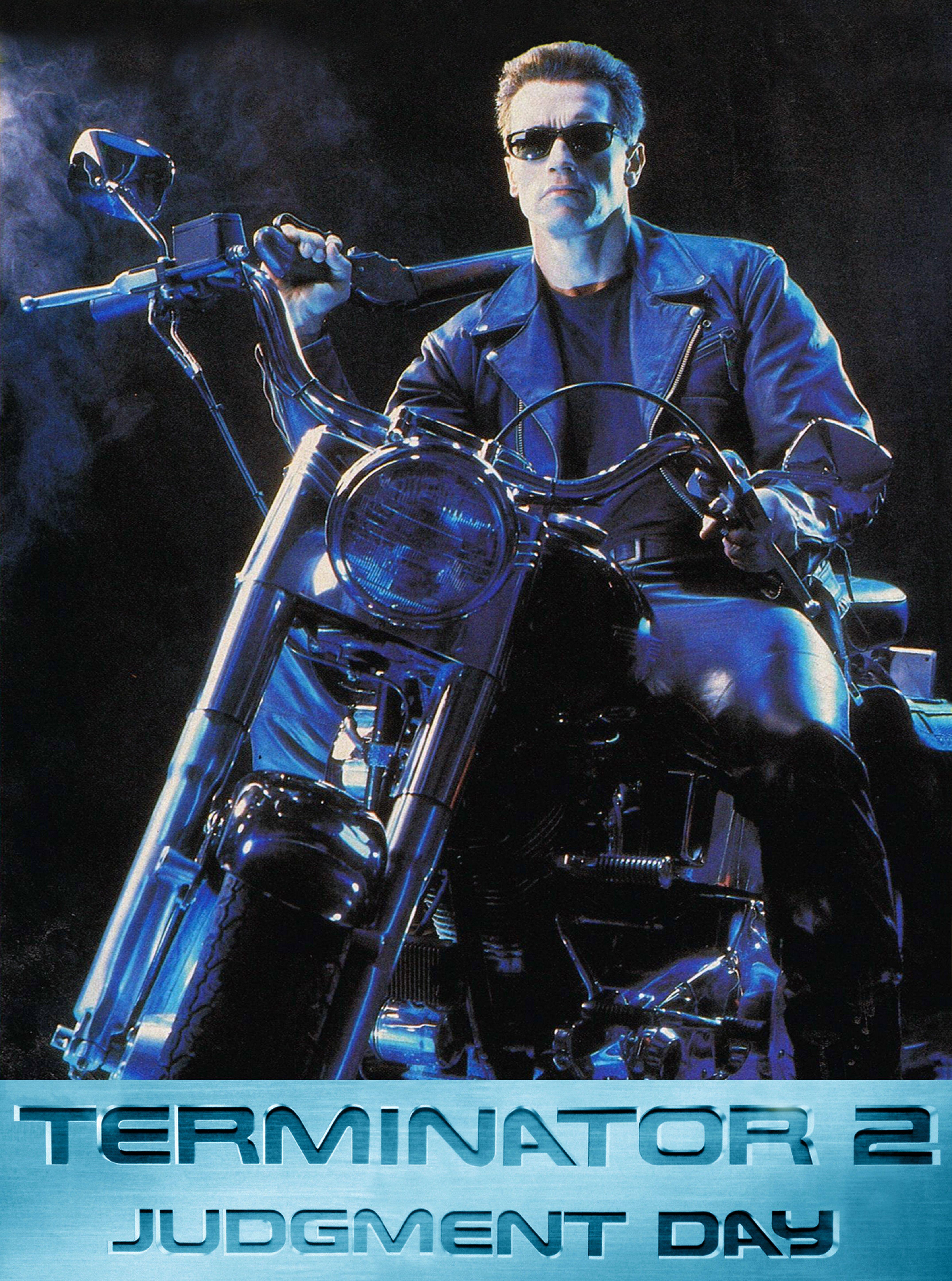 Poster Arnold Schwarzenegger Terminator 2 Judgment Day 1991 Terminator Arnold Schwarzenegger Terminator 2 Terminator Movies