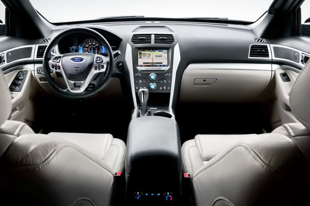 Ford Explorer SUV Interior Center Car Image 2013 ford