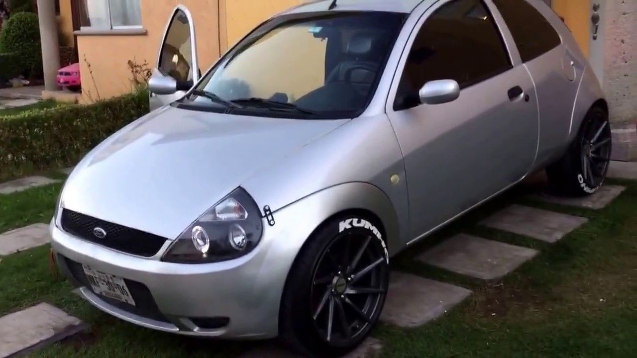 Ford Ka Modificado Ford Ka Custom Modified Ford Ka Rebaixado