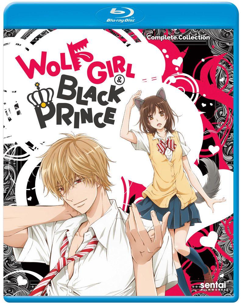 Wolf Girl & Black Prince Bluray Anime wolf girl, Wolf