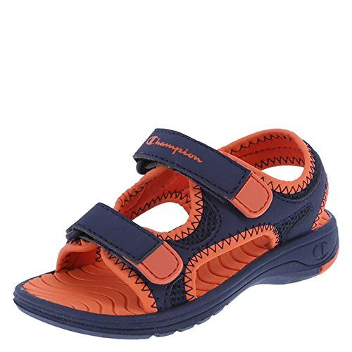 284ac0110411 back to basics Champion Boys  Toddler Double Strap Sport Sandal ...