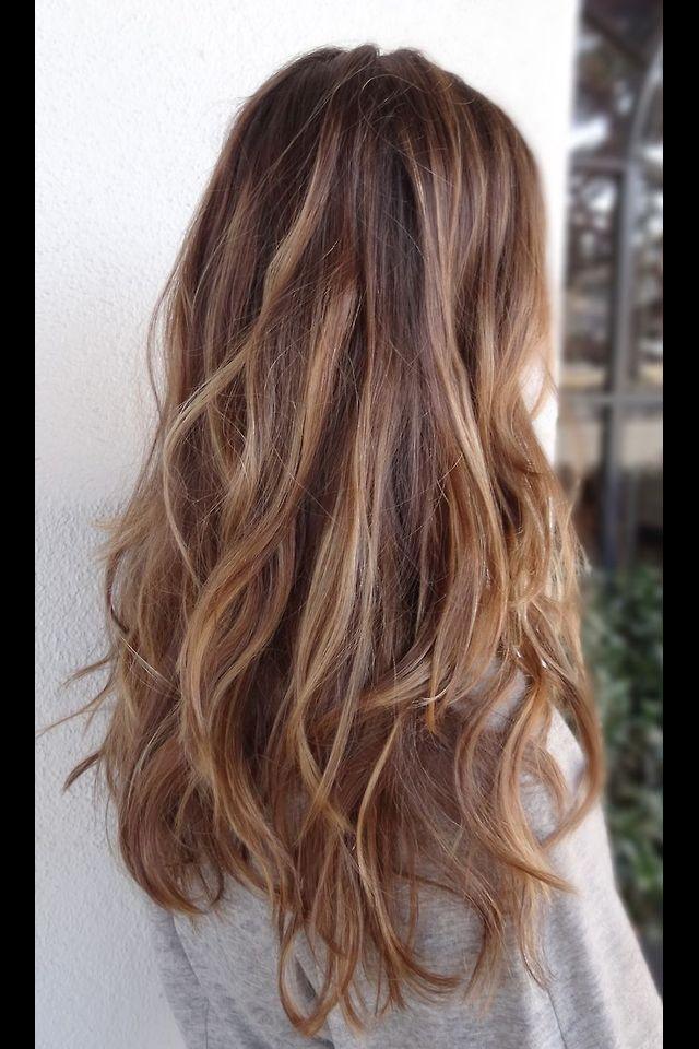 Long Hair Brunette Waves Hair Pinterest Brunettes Hair