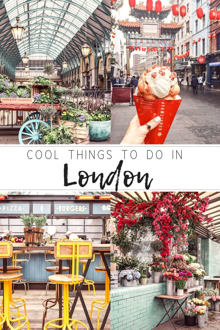 Cool things to do in London