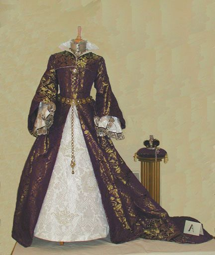 Replica Of Mary I S Wedding Attire Excerpt Mary S Dress Was