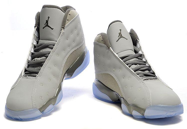 quality design 87c26 c1876 Men's Air Jordan 13 - Cool Grey Retro - Click Image to Close ...