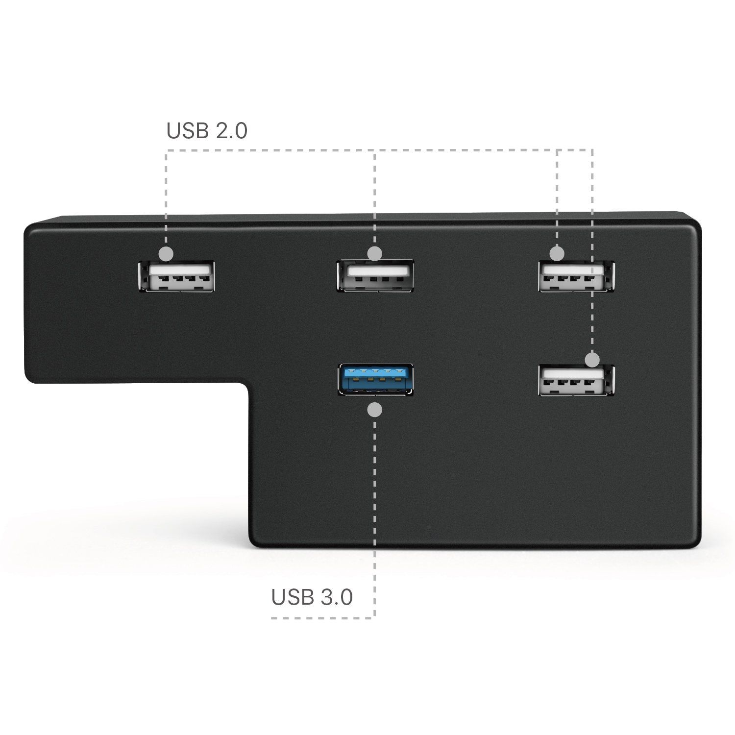 Tnp 5 Port Usb Hub For Ps4 Pro Edition Usb 3 0 2 0 High Speed Adapter Accessories Expansion Hub Connector Splitter Expander For P Ps4 Pro Ps4 Pro Console Usb