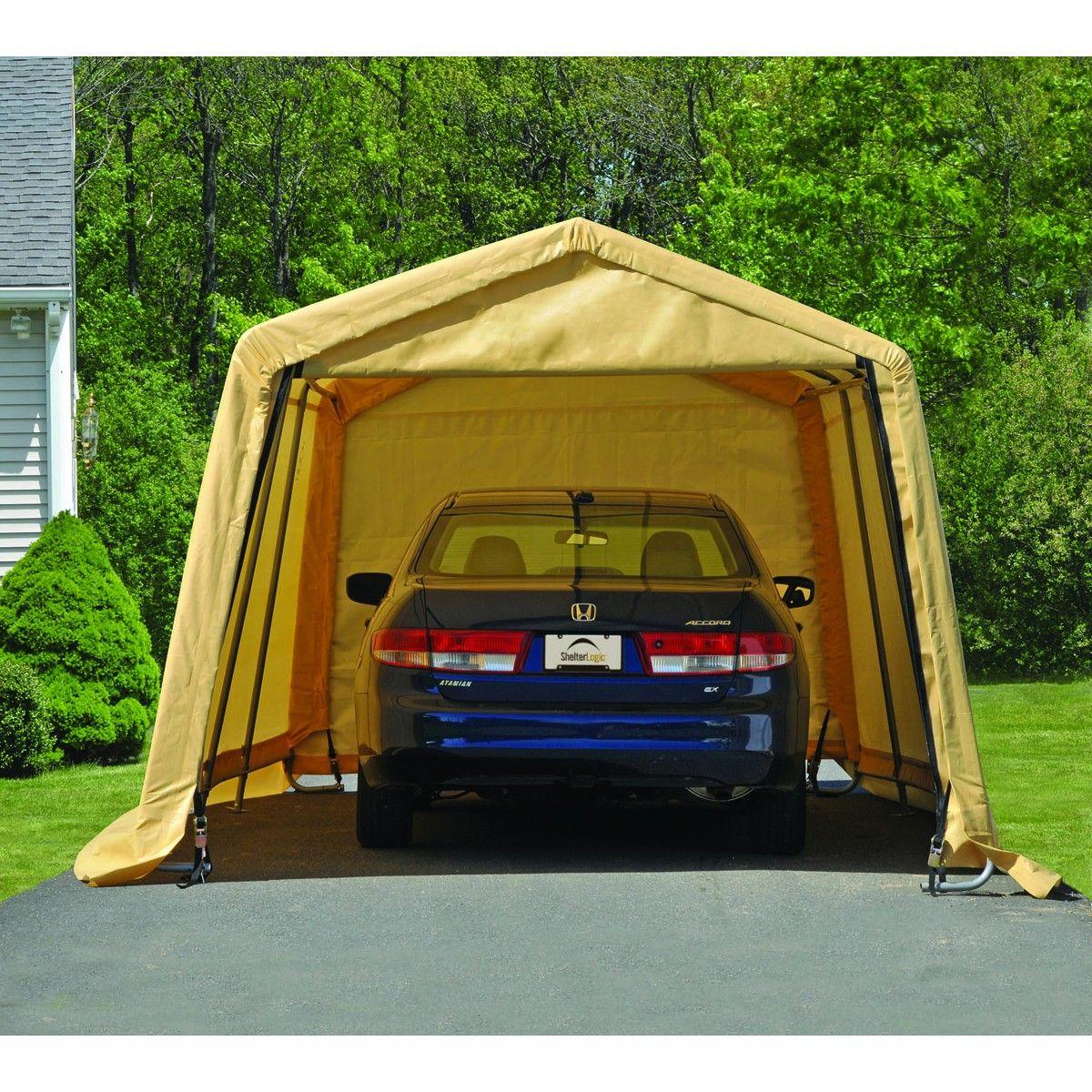 10 ft. x 20 ft. AutoShelter® Portable Garage   Portable ...