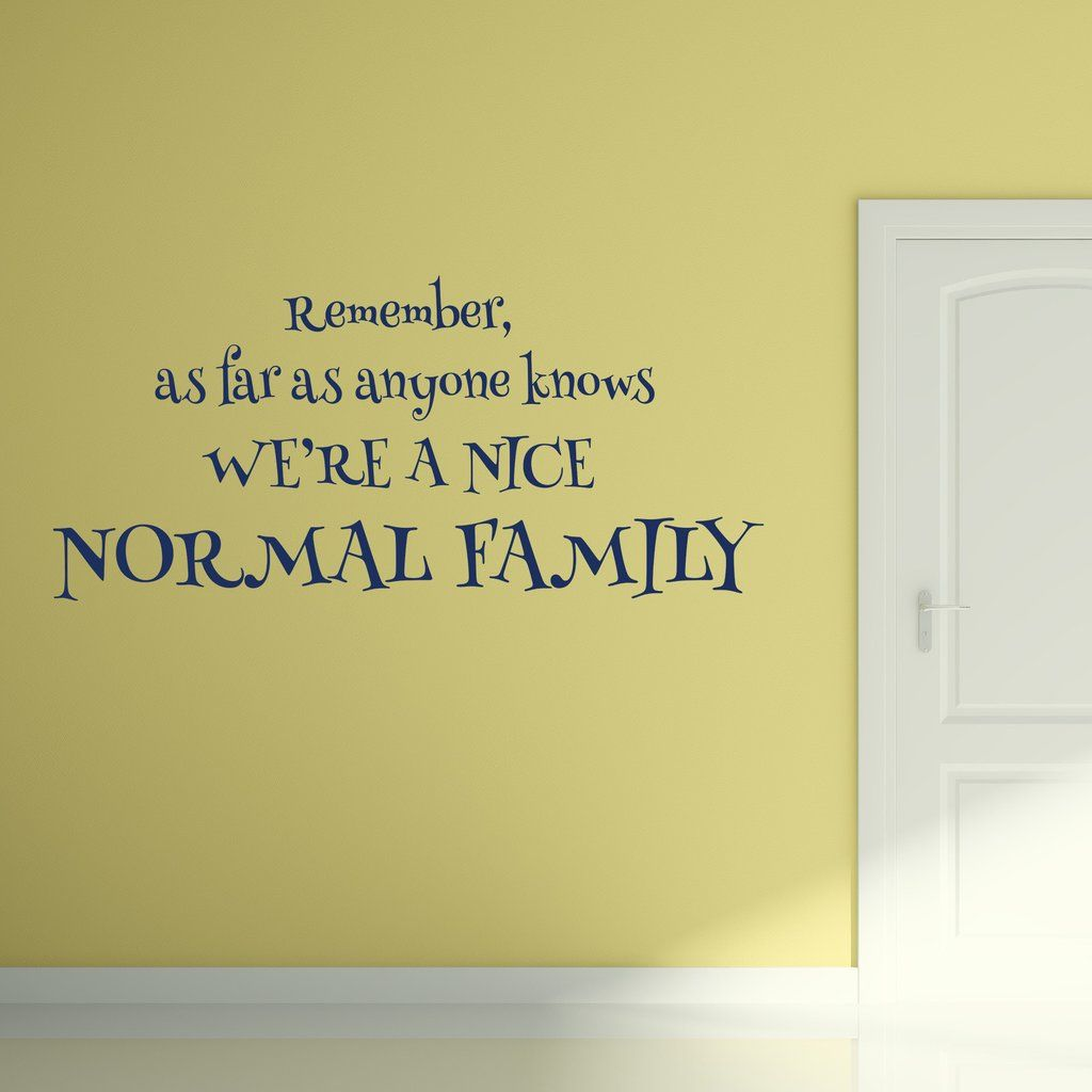 Select Quote New Normal Family  Wall Decals Wall Decor And Walls Inspiration Design