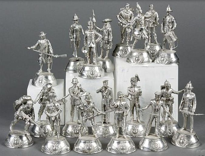 Charles Stadden Pewter Figures | Military figures, Toy