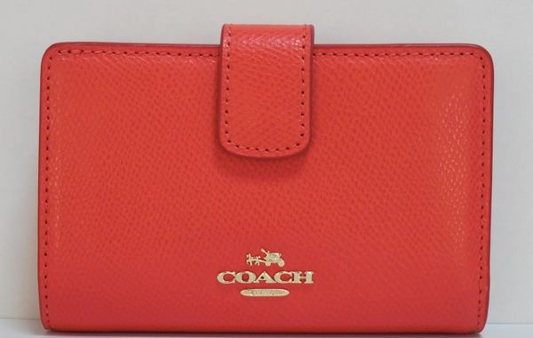 outlet store 96366 e512d coach】コーチ 財布 アウトレット f54010imwm3 クロスグレイン ...