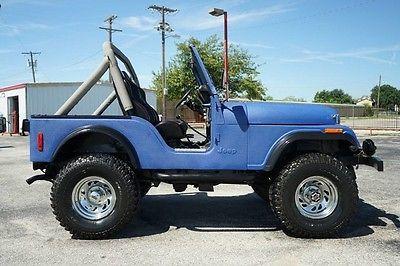 eBay: Jeep: CJ 1980 LIFTED CJ5 JEEP WITH HOT ROD CHEVY V8