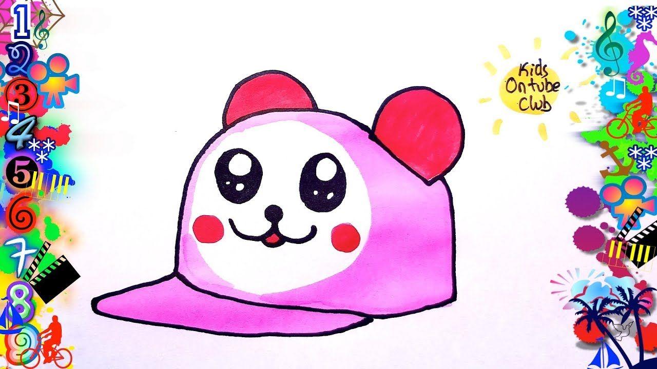 Como Dibujar Una Gorra Kawaii Facil Para Ninos Dibujos Dibujos Kawaii Faciles Dibujos Kawaii Dibujos Para Ninos