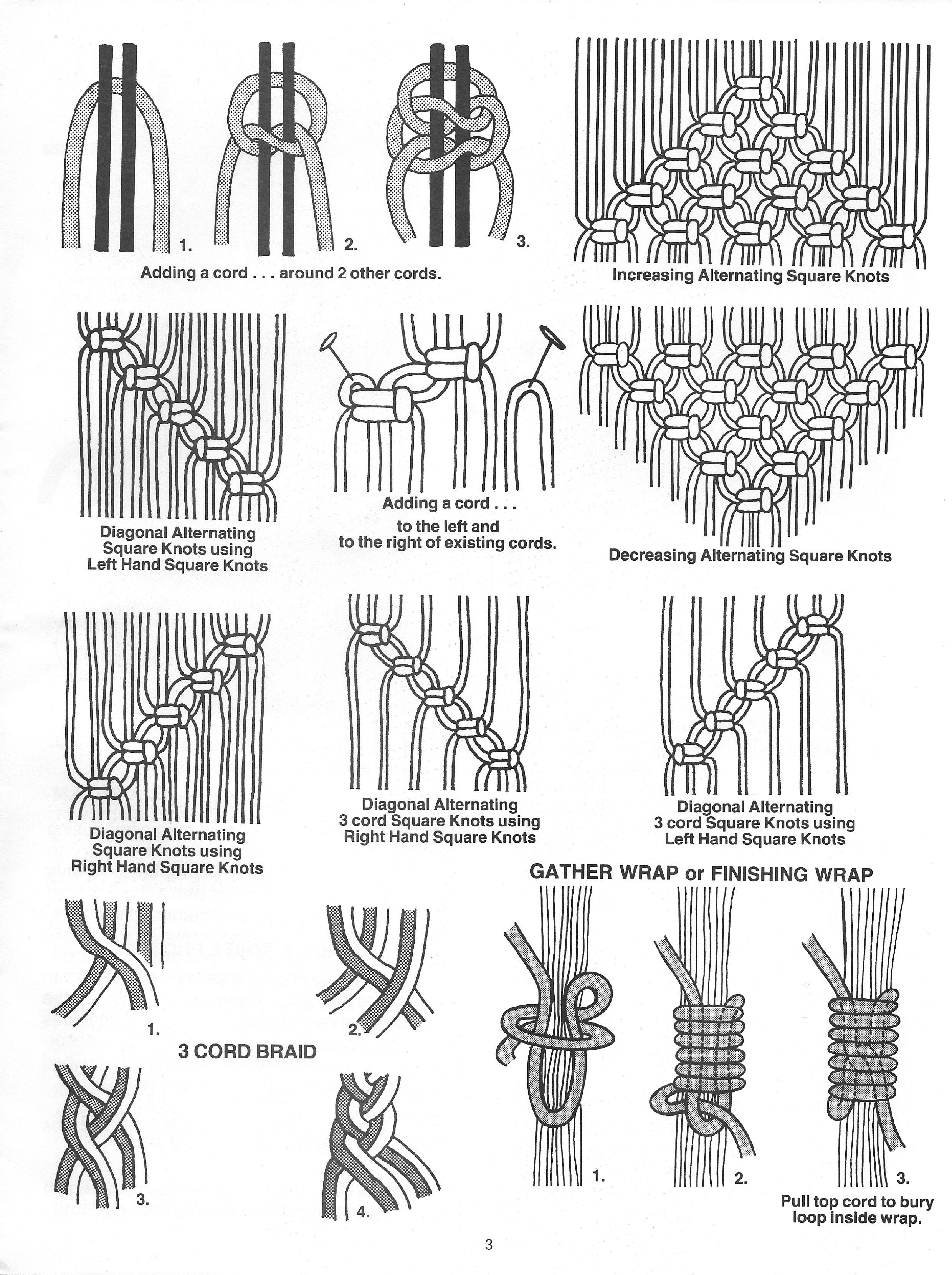 Knotting Notions Book Macrame Pattern Book Pdf With Images