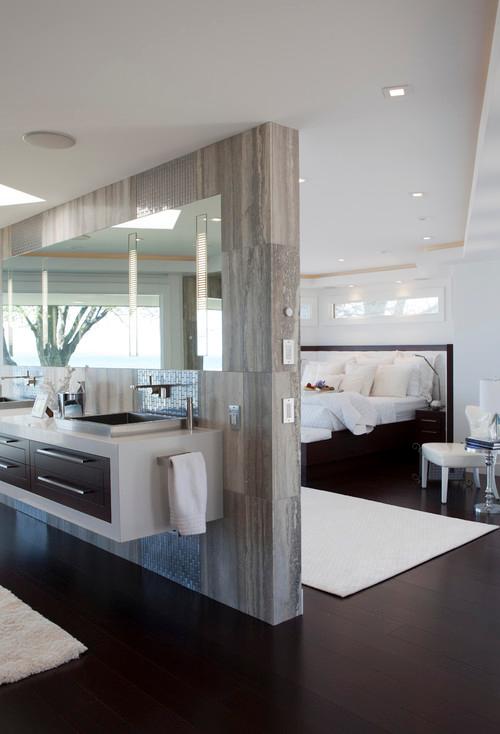 Elegant Modern Bathroom And Bedroom Design