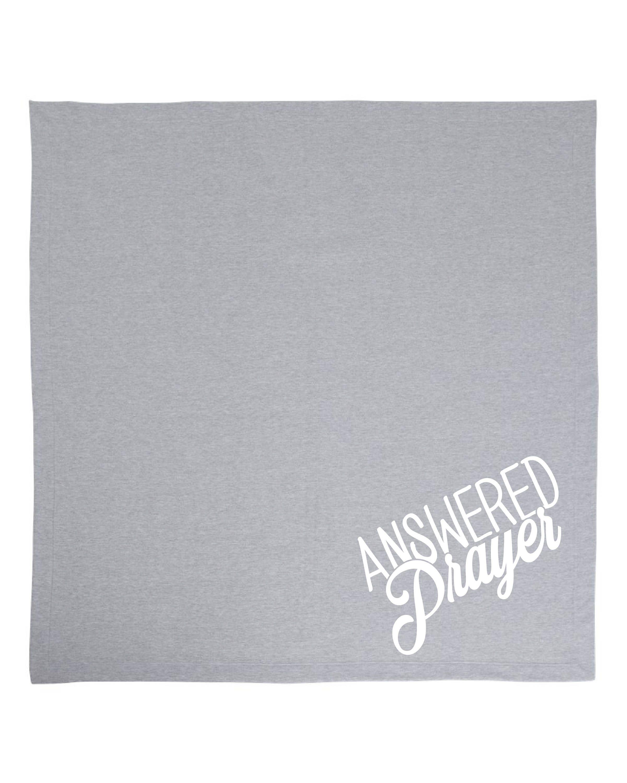 Answered Prayer Baby Blanket Nursery Decor Gender Neutral Baby