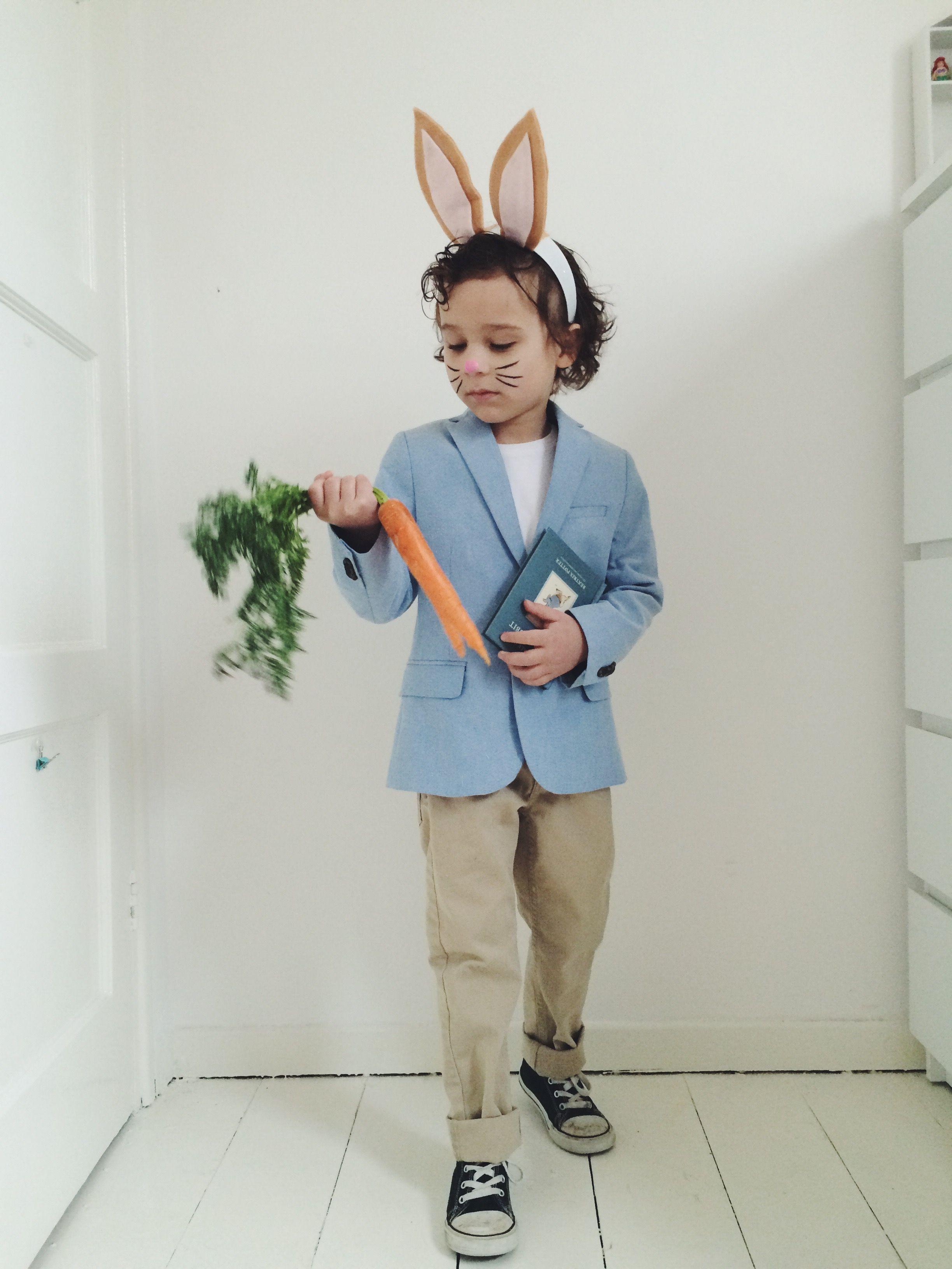 634562a37e93 Peter rabbit, costume, world book day, Beatrix Potter   GW in 2019 ...