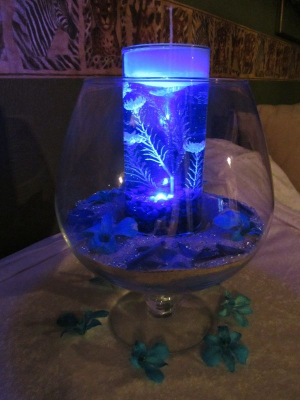 These led light up ocean centerpieces are gorgeous