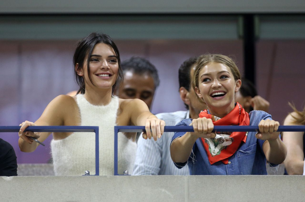 Queen Kendall — msfts-style: Kendall and Gigi at the 2015 US...