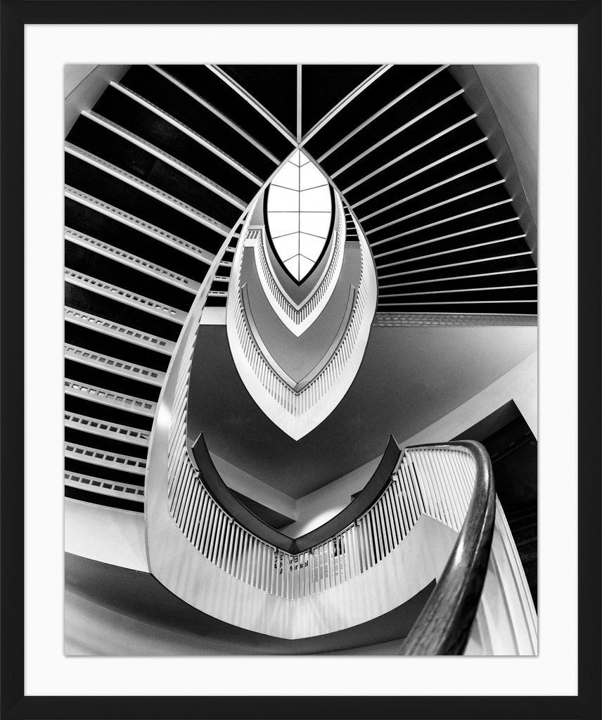 Stairwell Wall Art Design By Lillian August Wall Art Designs Art Design Museum Of Contemporary Art