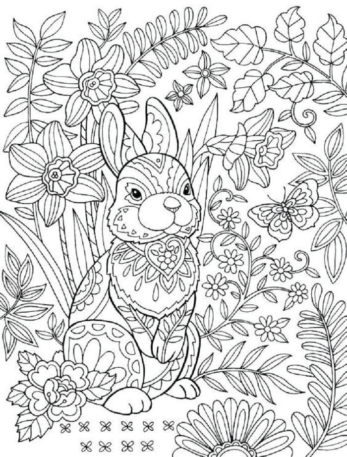 Coloring Ideas Hard Rabbit Coloring Pages Coloring Ideas Bunny Coloring Pages Free Easter Coloring Pages Easter Bunny Colouring