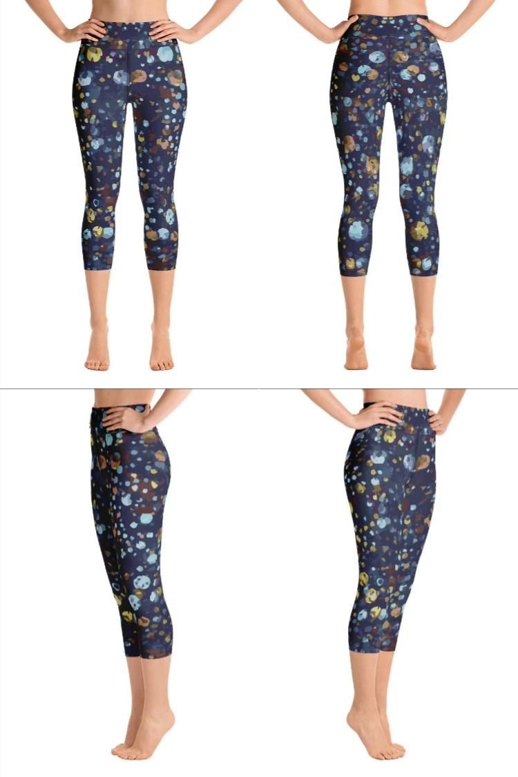Best 12 Premium quality, art inspired leggings for your sweaty pursuits by Bela Deso. Features - Four- way stretch, Super soft & comfortable -38-40