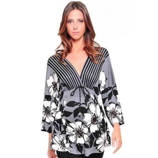 255328576 Modelos de camisas para embarazadas - Imagui