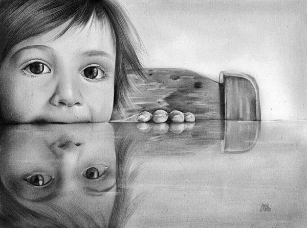 20 lifelike pencil drawing masterpieces hongkiat