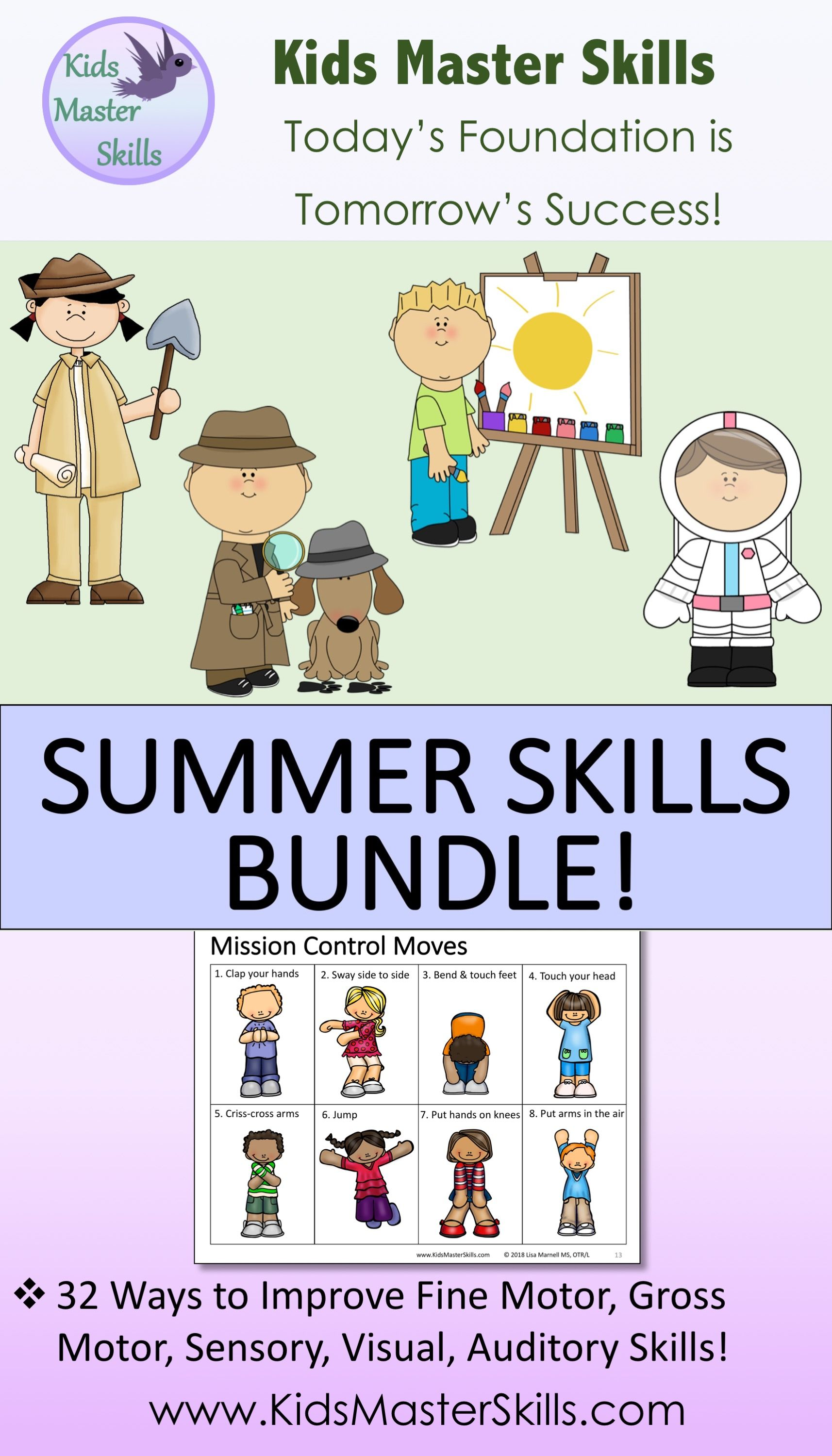 Summer Skills Bundle