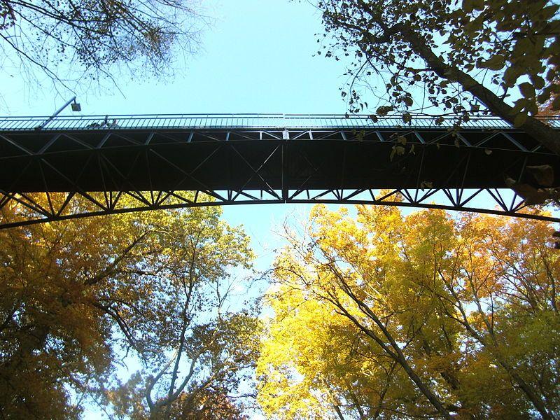 Grand valley state universitys little mac bridge taken