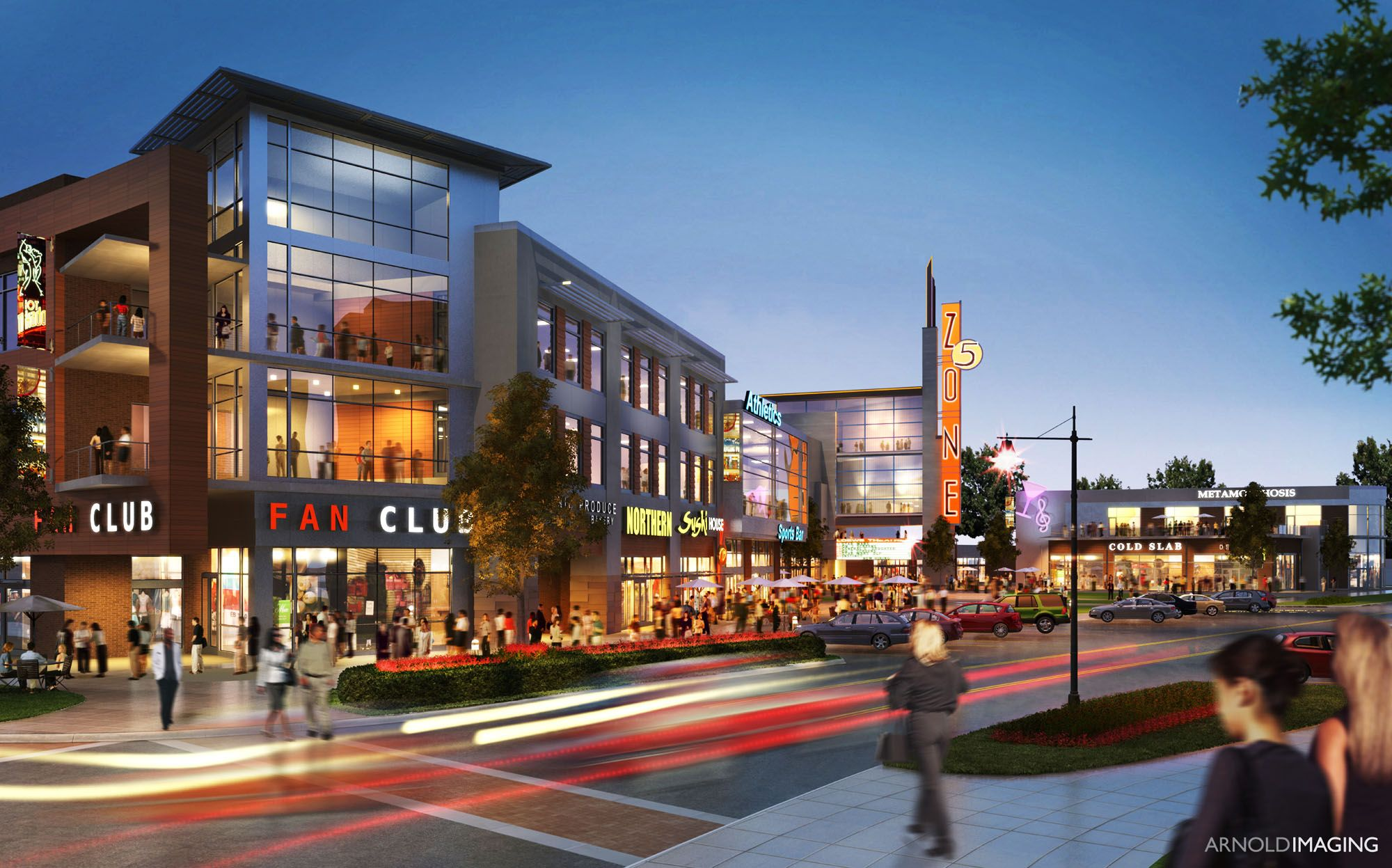 Rendering For Omaha Mixed Use Development Completed