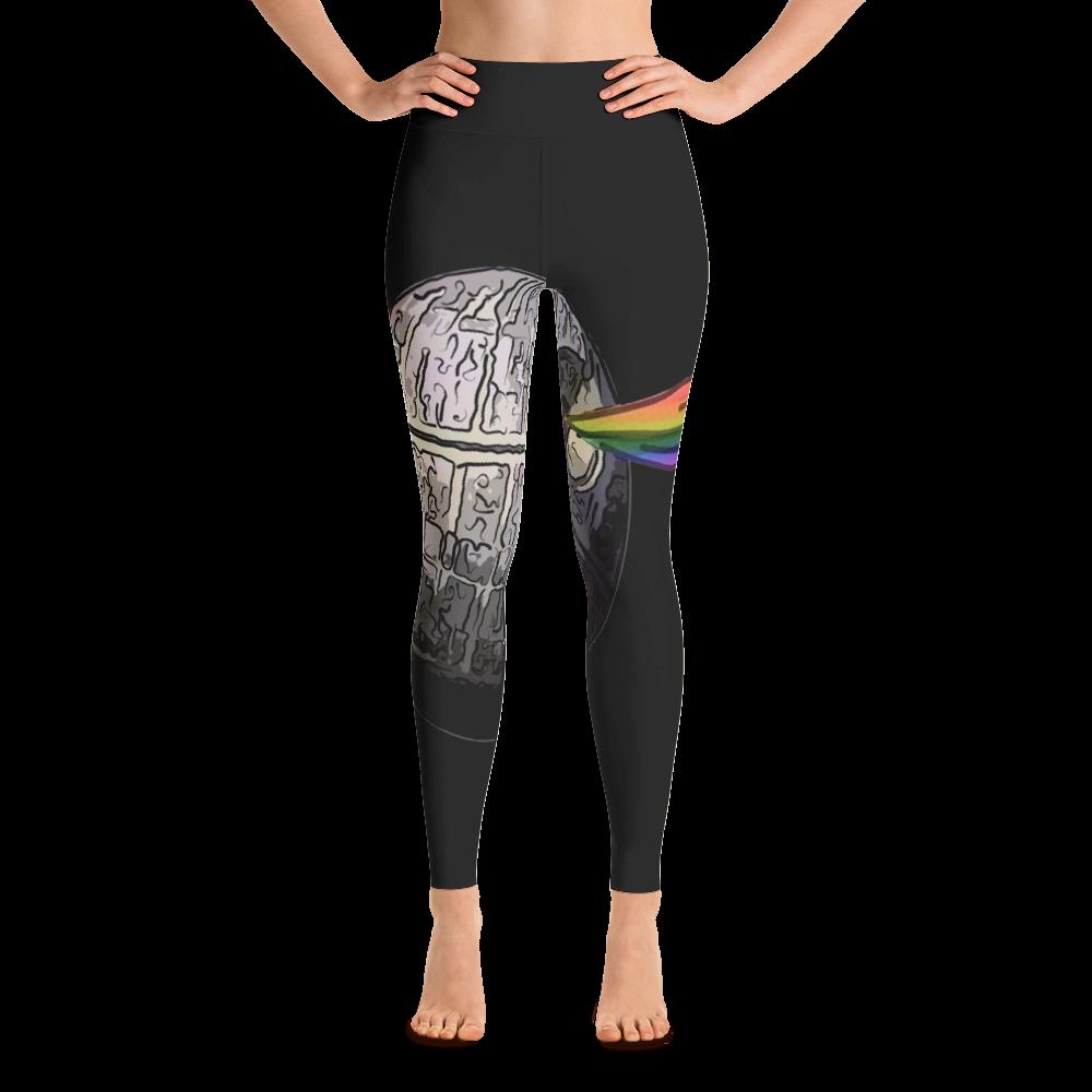 ffc2fc4cf47ae Dork Side of the Moon Women's Yoga Leggings | Products | Pinterest ...