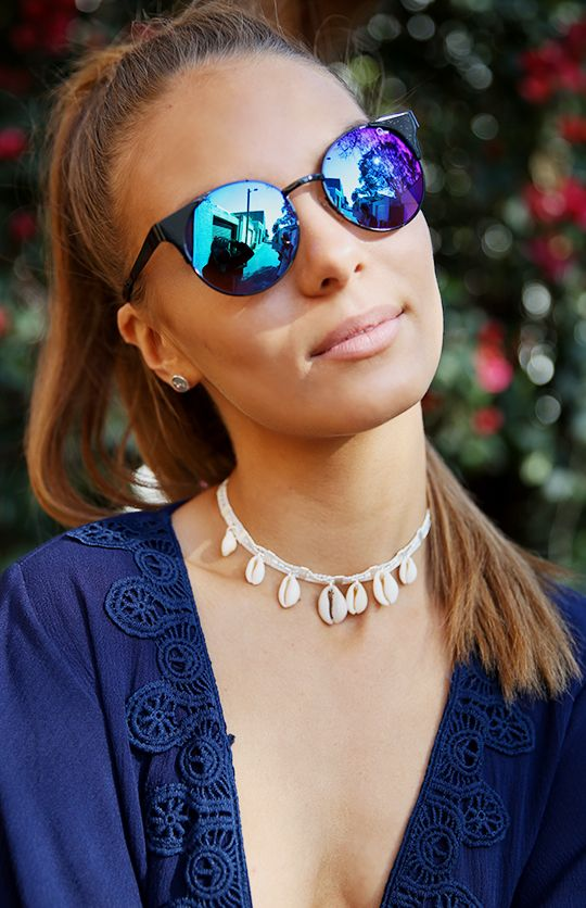 Quay Australia - Asha Sunglasses - Black from Peppermayo