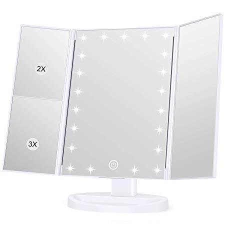 Amazon Com Koolorbs Makeup 21 Led Vanity Mirror With Lights 1x