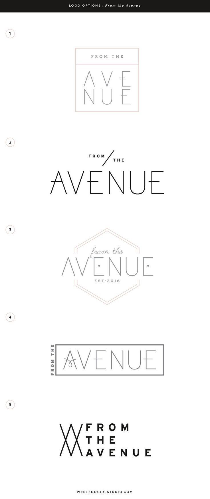 from the avenue logo pinterest logo design branding and