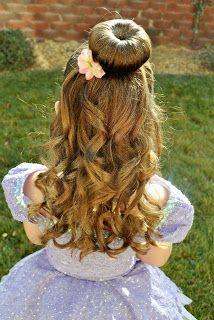 Princess Piggies Buns In 2019 Dance Hairstyles Princess