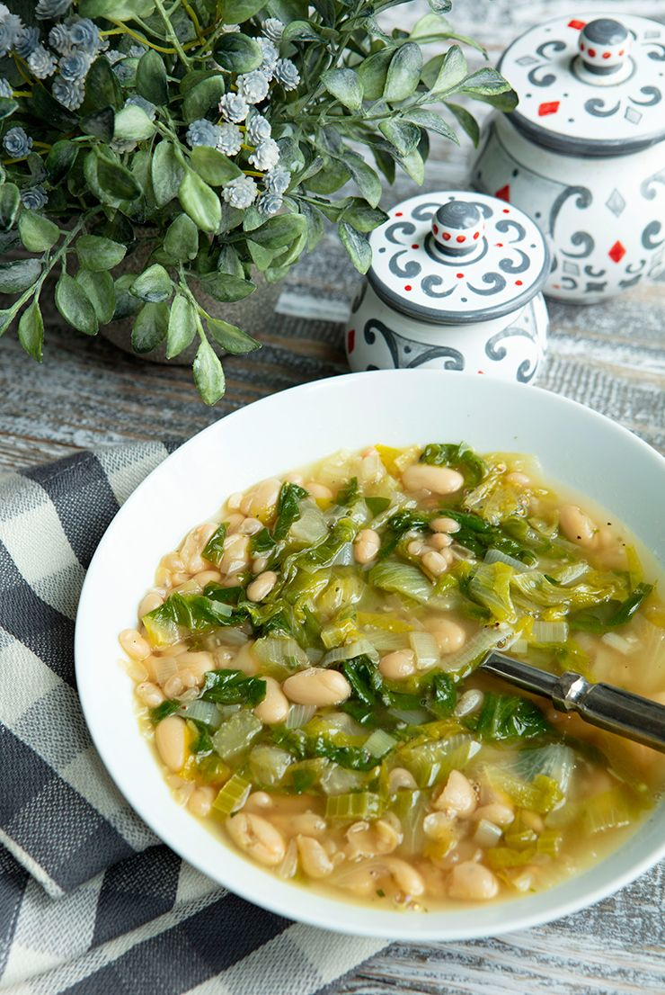 Photo of White Bean Escarole Soup