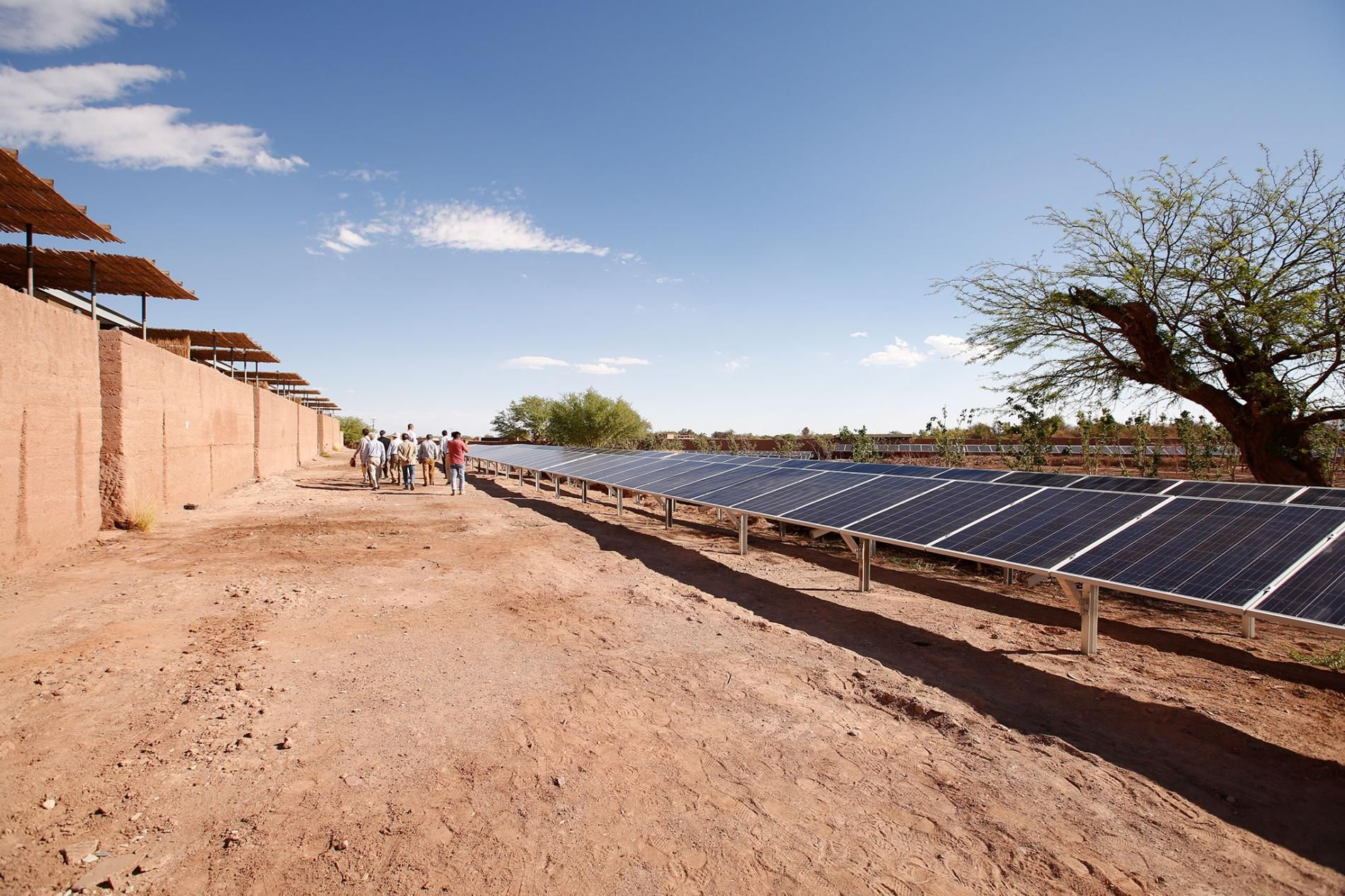 This Hotel Hopes To Serve As An Example In The Movement To Reinvent Chileone Solar Panel At A Time Https T C Renewable Solar Solar Energy Diy Energy Pictures