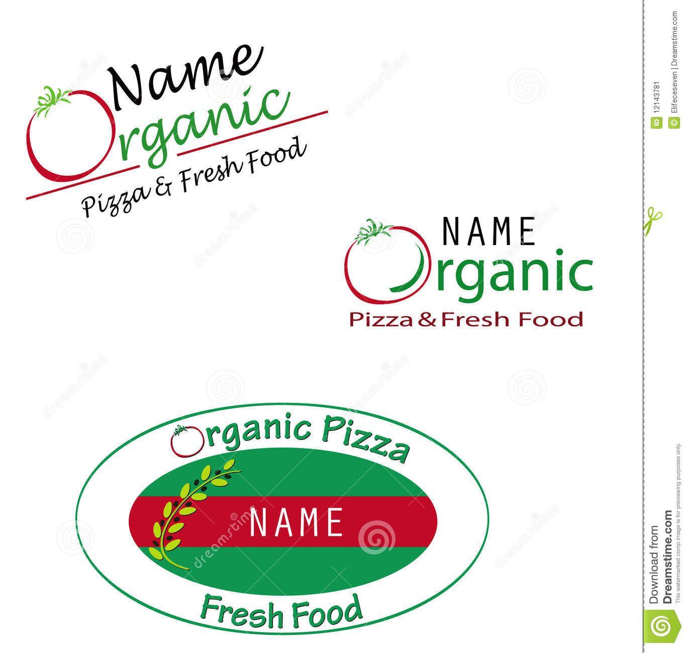 Organic Food Logo Healthy benefits of an organic garden