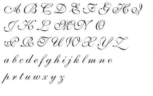 Kaligrafia Litery Ozdobne Szukaj W Google Tatuaż
