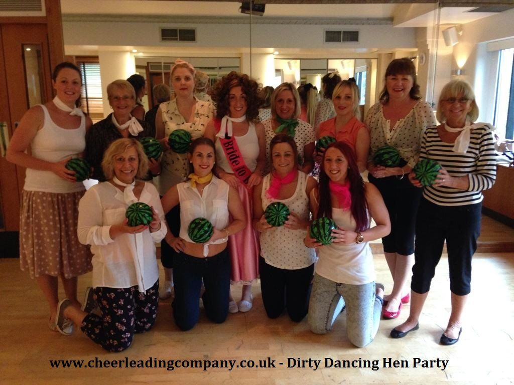 They Carried A #watermelon ! #Cheerleading Dance Hen Party