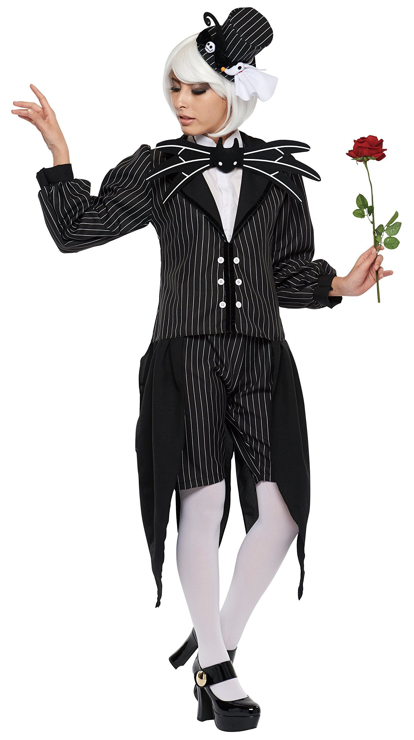 Female Jack Skellington Costume Halloween Ideas For