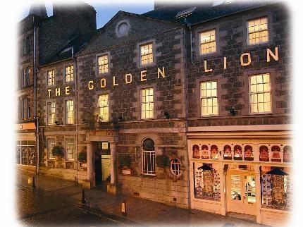 Golden Lion Hotel Stirling Sotland
