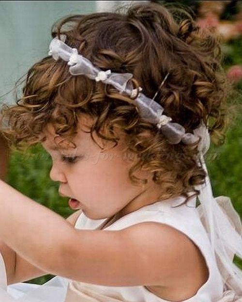 Children Wedding Hair Style: Baby Girl Hairstyles For Wedding Baby Flowergirl Hairstyle