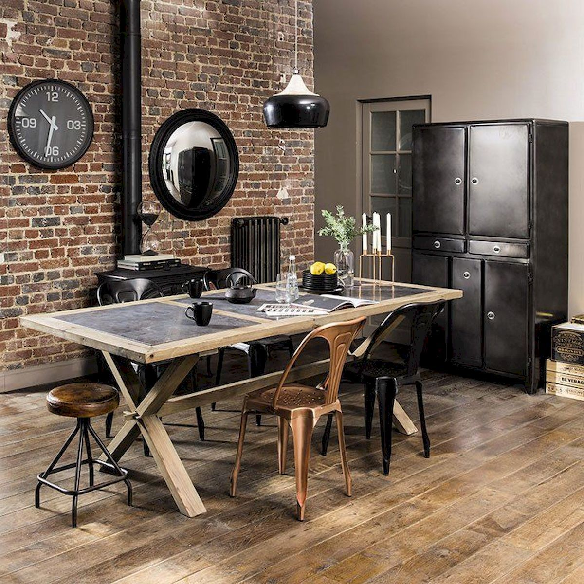 Industrial Kitchen Furniture: Decor Inspiration For Home Kitchen