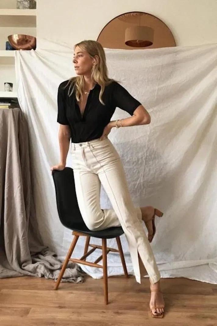 15 idées de tenues minimalistes parfaites pour l'été   – Mode