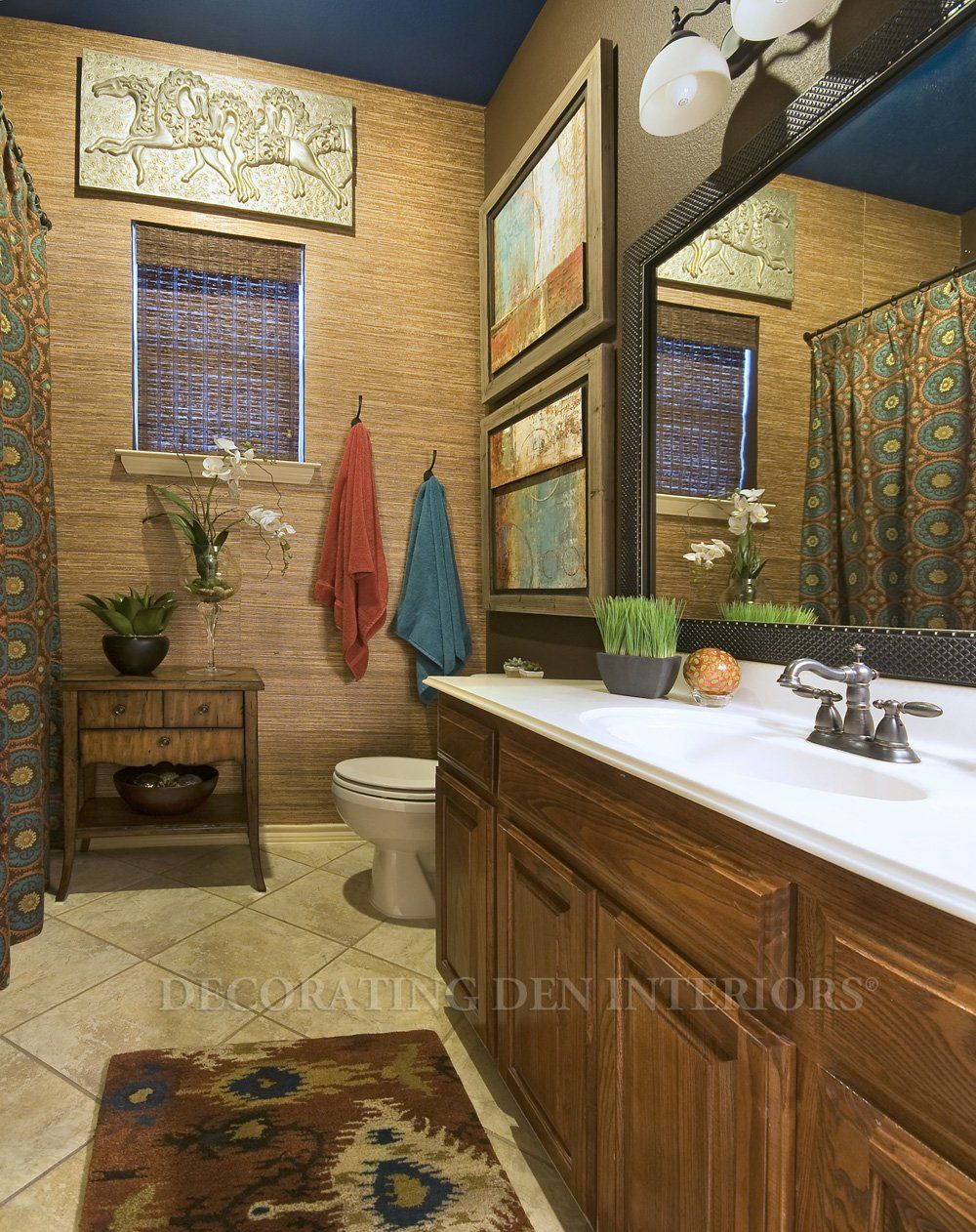 Bathroom designs by Decorating Den Interiors. Want this look ...