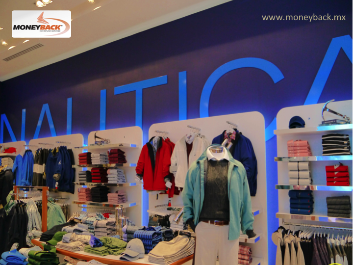 The Brand Nautica, famous for its naval style, which evokes sailing, regattas and everything related to nautical clothing, with over 250 stores worldwide, has branches in Los Cabos, Cancun, Playa del Carmen, Ixtapa, Acapulco, Mérida, and Antara Polanco in Mexico City. In all them you can find our tax refund services for tourists. #moneyback  #taxrefund #travelmexico